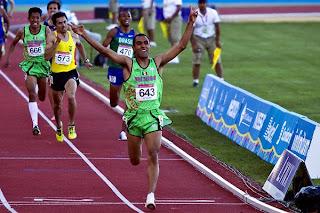 Oro en atletismo