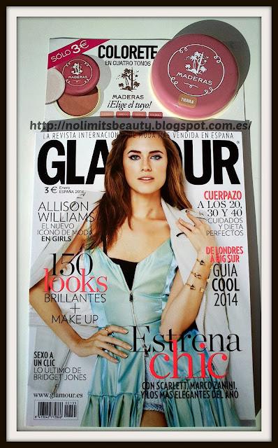 Revista Glamour Enero 2014
