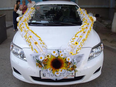 Simple Wedding Car Decorations Pictures - wedding flowers 2013