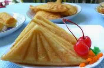 cetakan waffle kompor