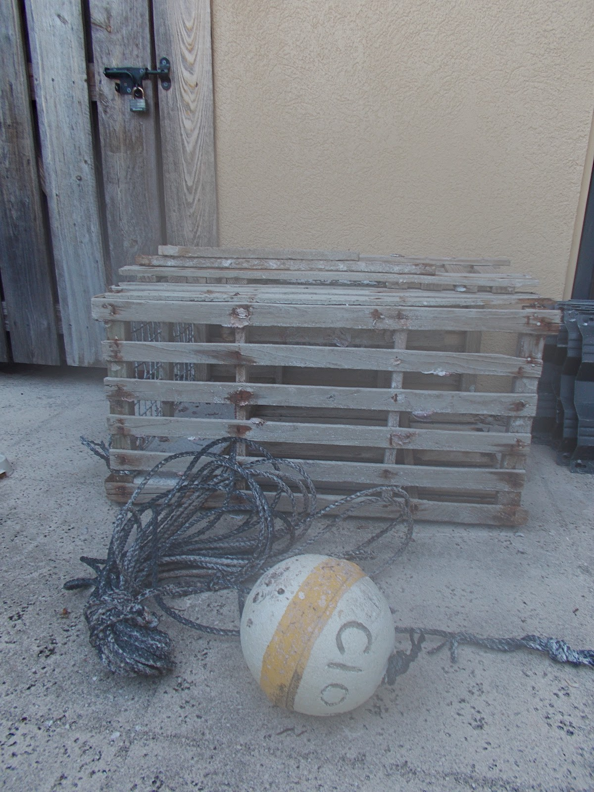 Lobster Trap Console Sofa Table
