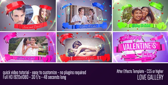VideoHive Love Gallery