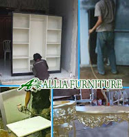 Proses Finishing Furniture Cat Duco Warna Akhir