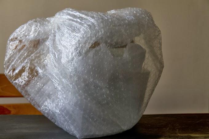 オールドパイレックス ダブルボイラー 梱包の様子3
