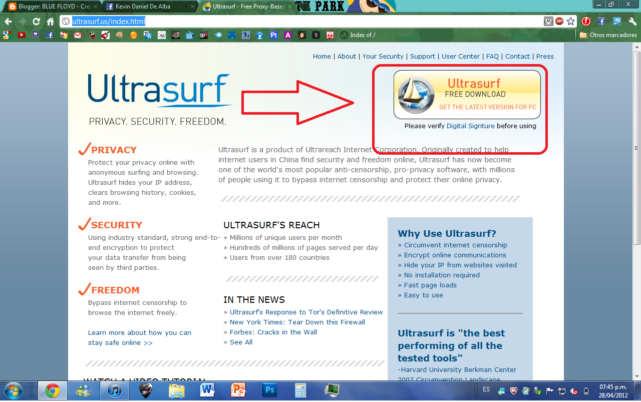 Ultrasurf free download and software reviews cnet