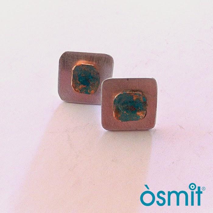 pendientes aluminio osmit joyas artesanales