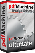 Broadgun pdfMachine Ultimate v14.49 Full Version with Crack