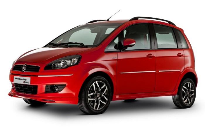 a car Fiat Idea 2013