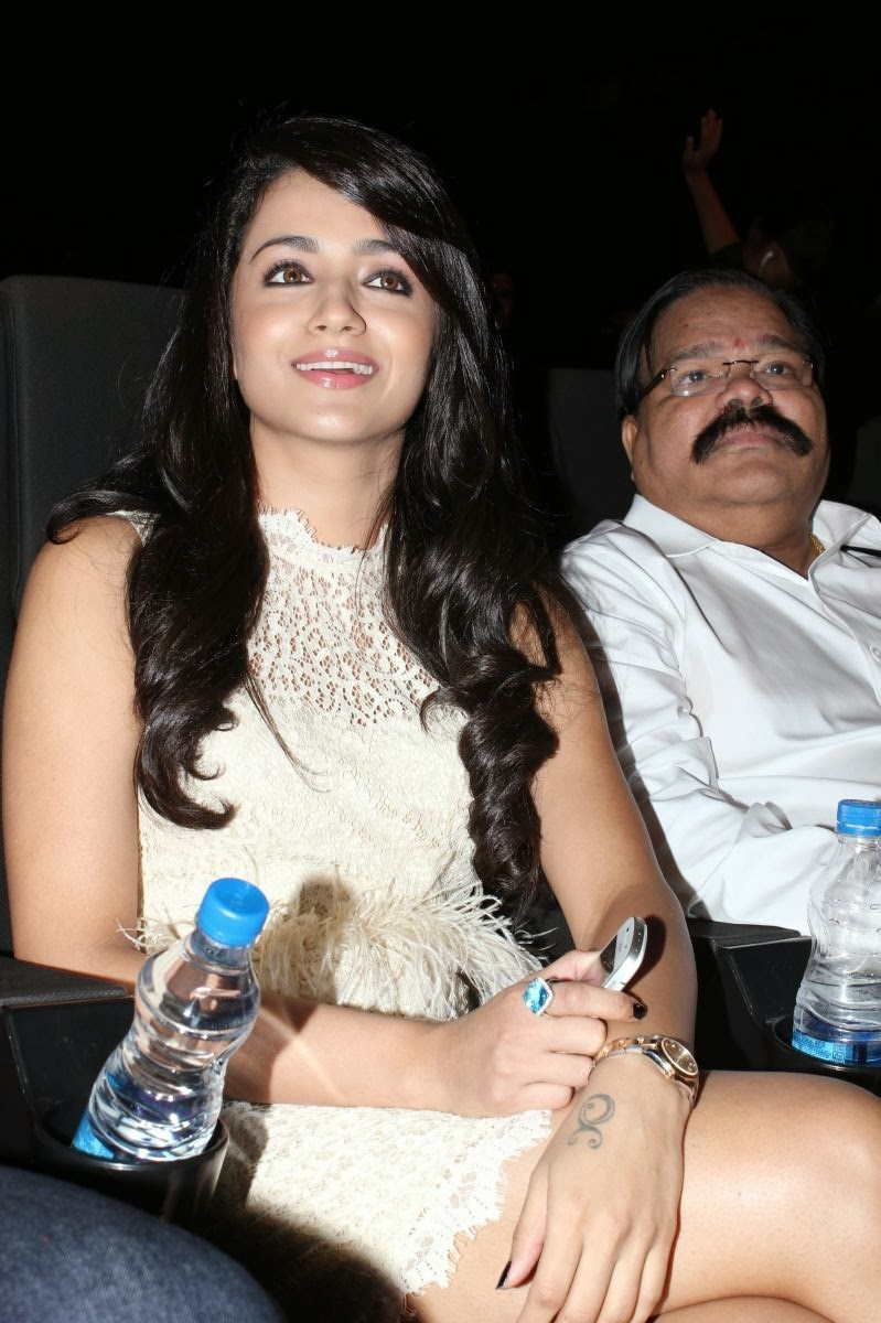 gorgeous Trisha hot photos at movie audio launch function