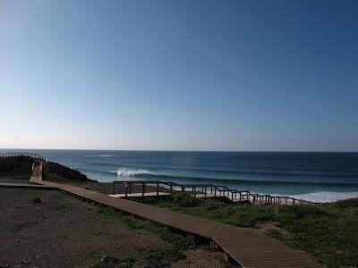 Path to praia da Carrapateira