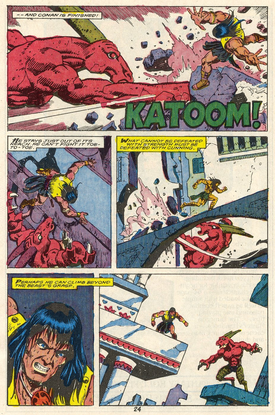 Conan the Barbarian (1970) Issue #214 #226 - English 19