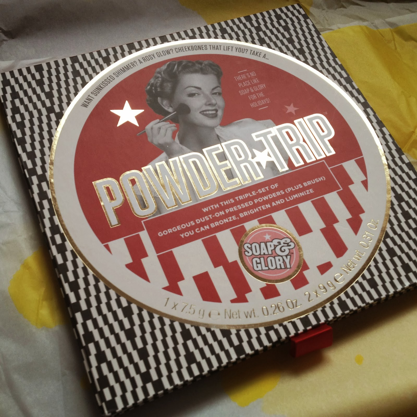 Soap and Glory Powder Trip