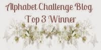 2 x Alphabet Challenge Blog Top 3