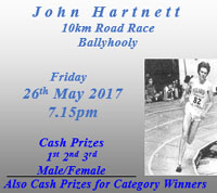 10k near Fermoy...Fri 26th May 2017