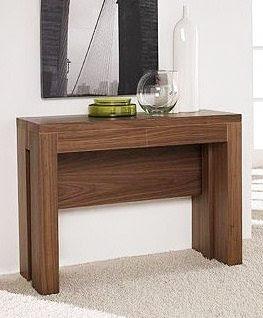 Mesas de comedor por la decoradora experta mesa consola for Mesas de comedor usadas