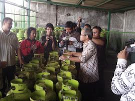 Kunjungan Lapangan: Kasus Ledakan Tabung Gas