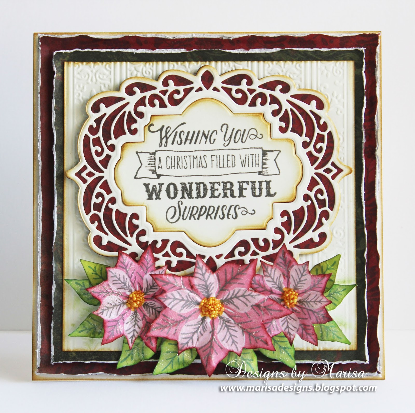 Designs By Marisa Justrite Paper Craft Christmas September Release