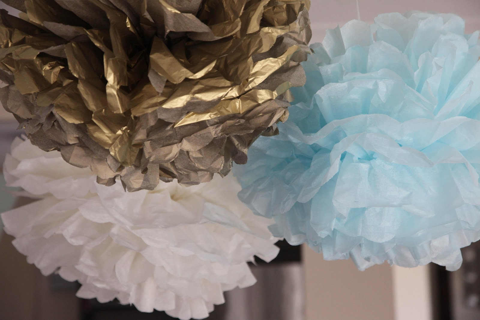 Bubble and Sweet: Blue Ruffle Birdie Baby Shower