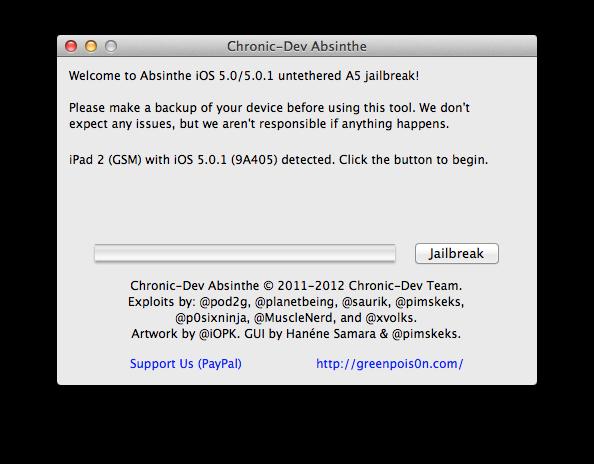 Cara Jailbreak iOS 5.0 dan 5.0.1