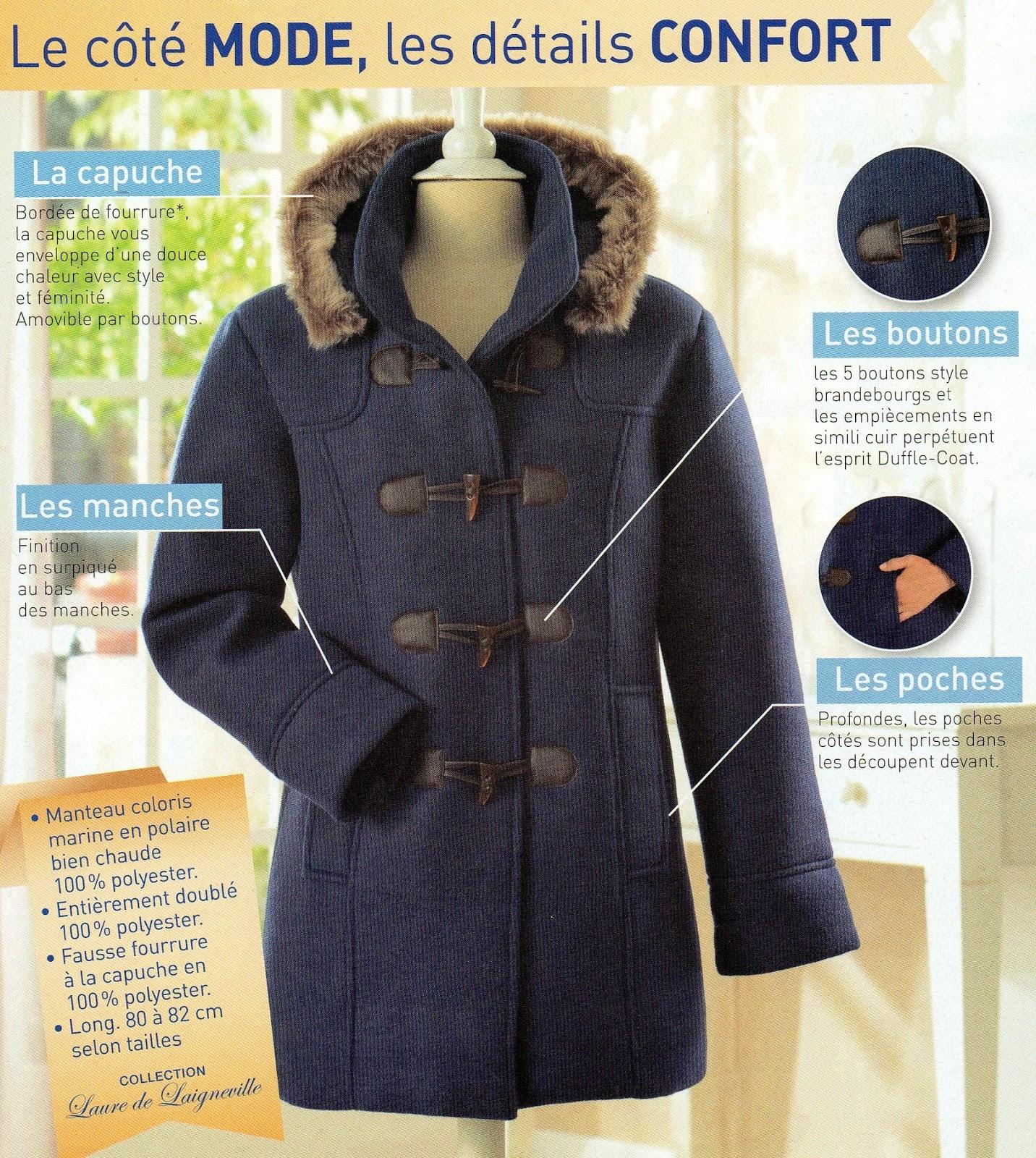 Les bonnes affaires de lacuna un manteau style duffle coat en cadeau et frais de port gratuit - Photobox frais de port gratuit ...