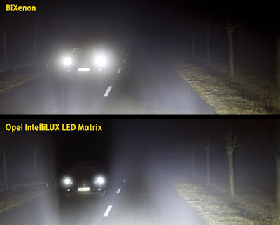 """SAFETYBEST 2015"": Διάκριση για το Opel IntelliLux LED® Matrix Light"