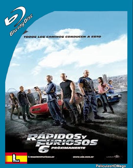 Rapido y Furioso 6 (2013) BRRip Español Latino