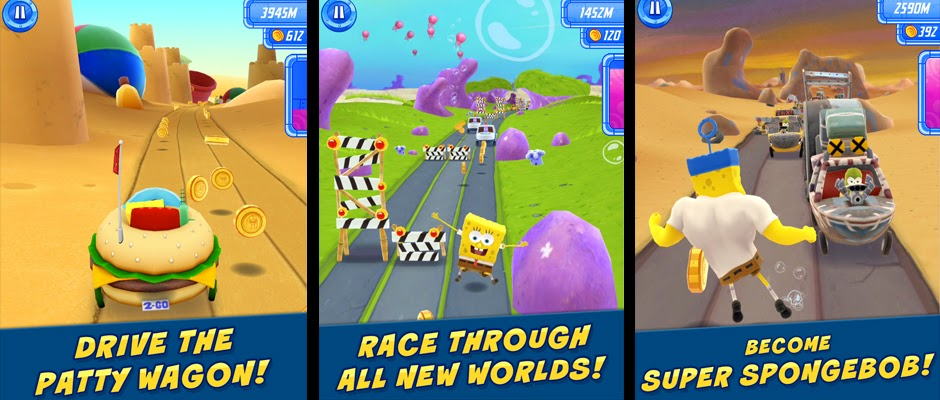 Game SpongeBob: Sponge On The Run Full Apk + OBB