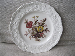 """Friarswood"" 9 inch desert plates from Mason Ironstone"