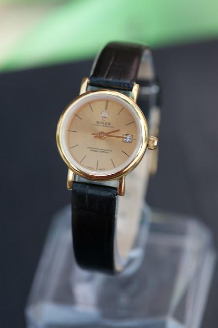 Đồng hồ nữ dây da Rolex đẹp tại Cầu Giấy
