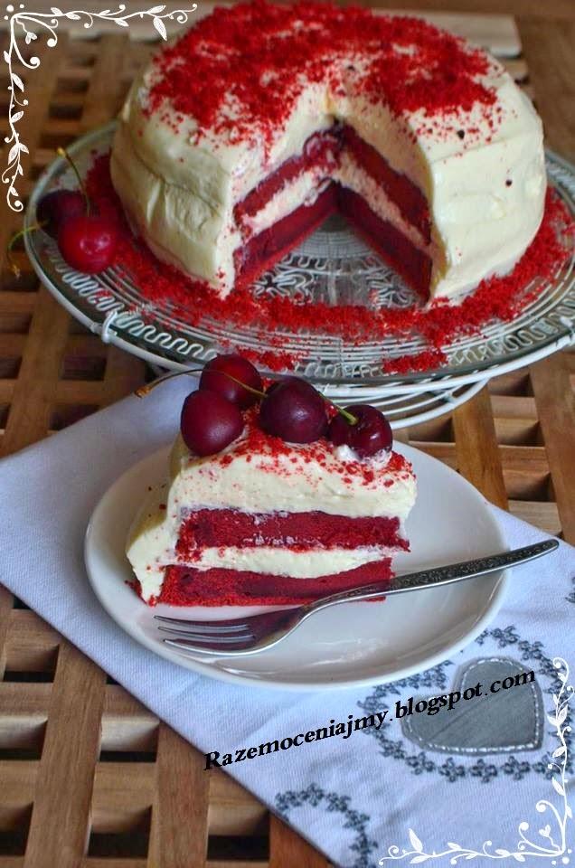 Dziś Troszkę na słodko -  Red Velvet Cake