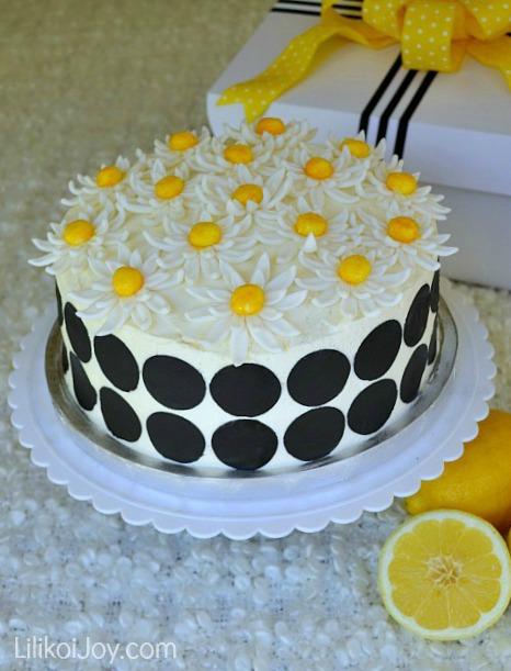 Cake Spade {Lemon Layer Cake}
