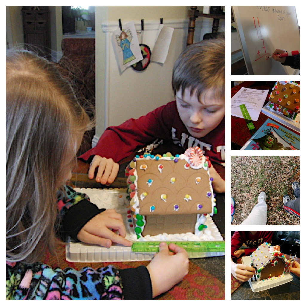 Gingerbread house geometry project
