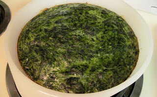 Pudin de espinacas, Cuban baked spinach