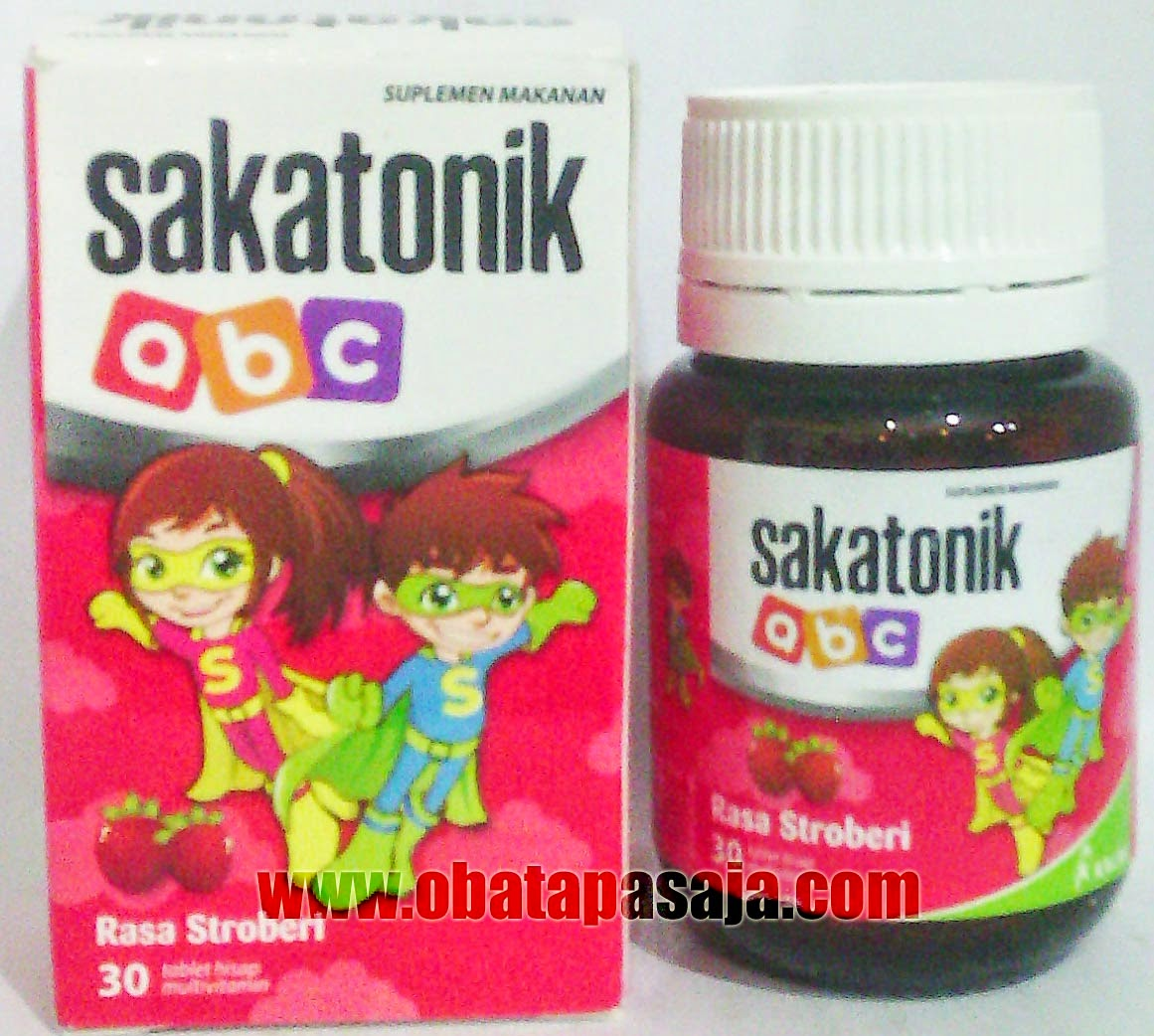 Harga dan Komposisi Sakatonik ABC Rasa Strawberry