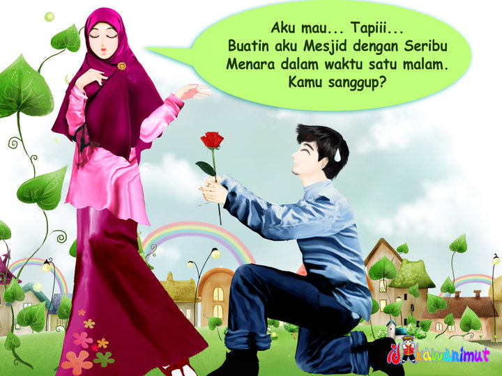Pacaran Married Deh Manusia Akhir Zaman Foto Kartun Islam