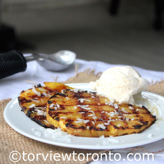 Torviewtoronto grilled pineapple with coconut milk for Cuisine ricardo