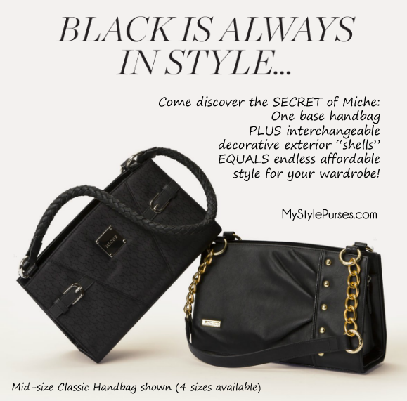 A Black Handbag is Always in Style | Shop MyStylePurses.com