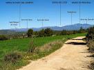 Les serres de Port del Comte, Busa, Verd, Cadí i Queralt des del camí de Cal Daina