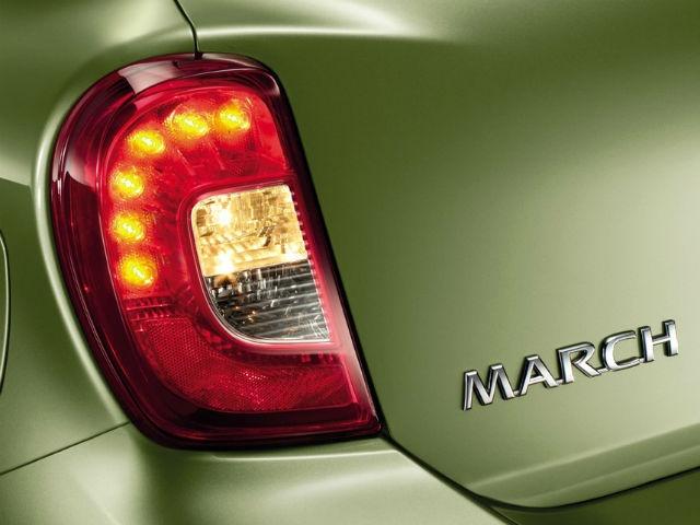 Nissan Micra rearlamp