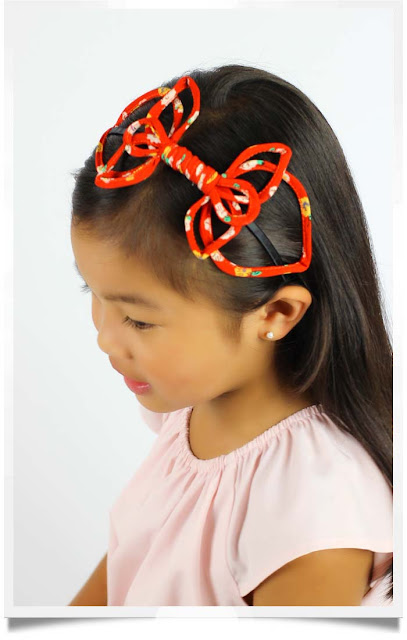 Red Kayt Headband | Republic of Pigtails | Chichi Mary Boutique
