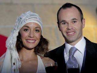 Hochzeit Fotos von Andres Iniesta und Ana Ortiz
