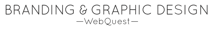 Graphic Design WebQuest