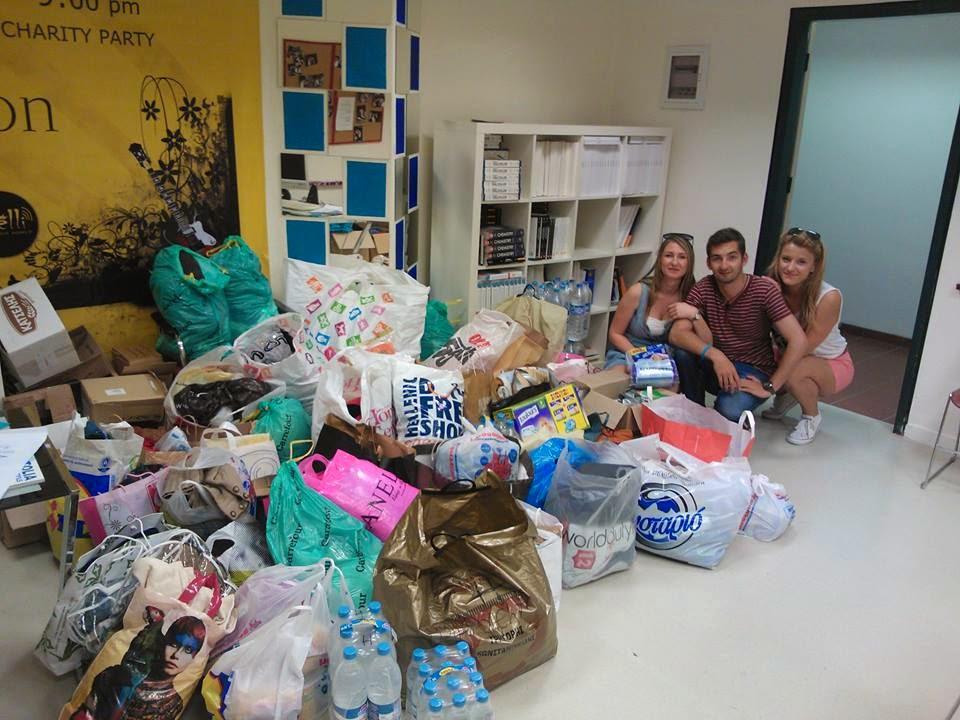 Studenti iz Soluna sakupili pomoć za Srbiju