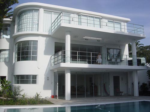 Cool quality pictures modern home designs art deco home for Art deco house plans