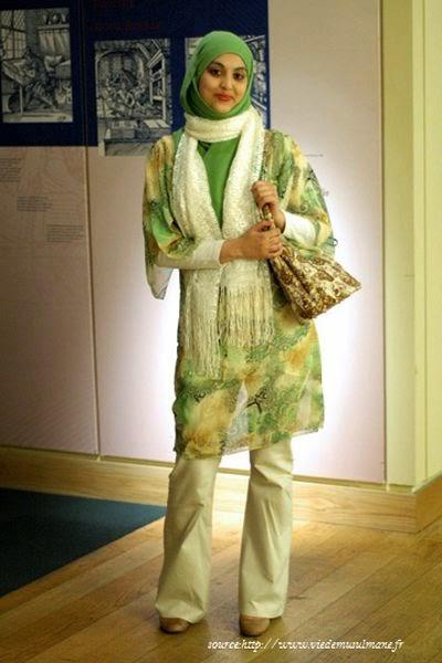 Hijab style classe