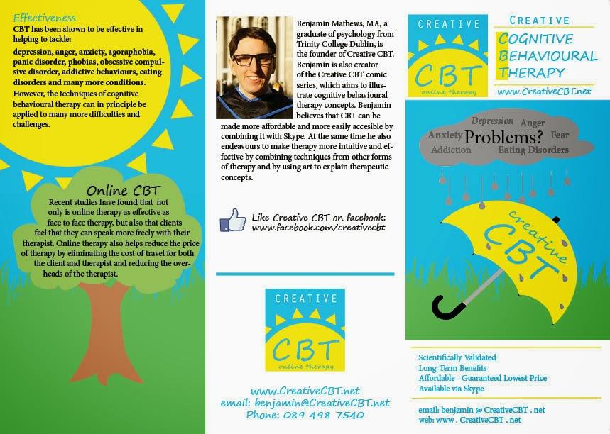 Creative CBT brochure, front