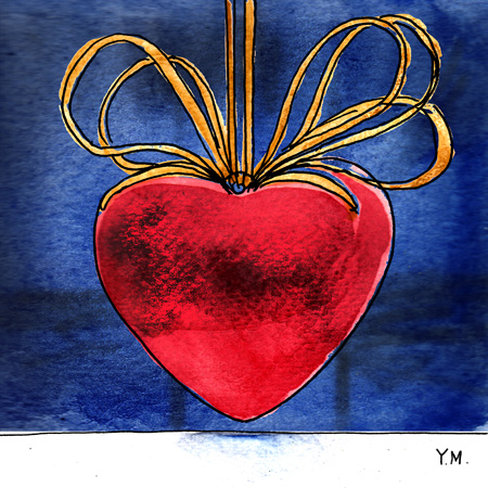 heart by Yukié Matsushita