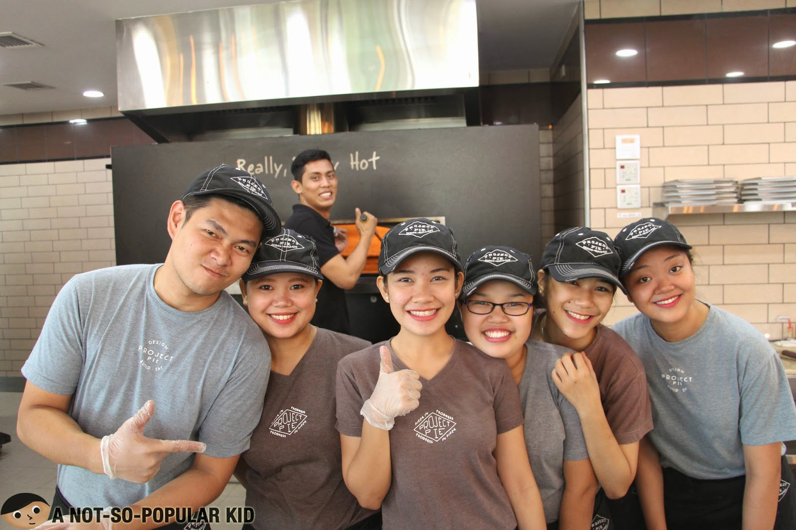 The awesome crew of the Project Pie in Blue Bay, Pasay City