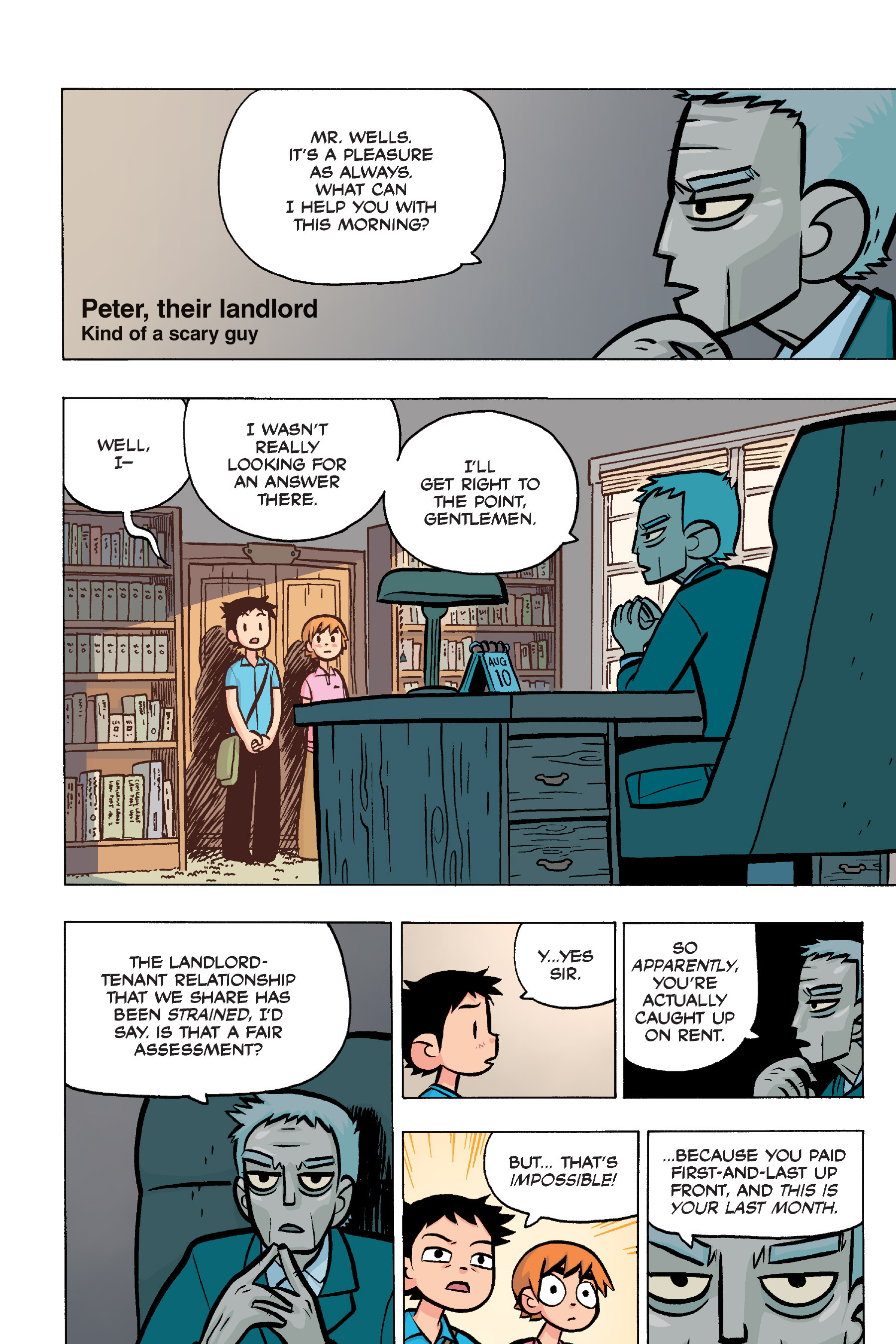 Read online Scott Pilgrim comic -  Issue #4 - 87