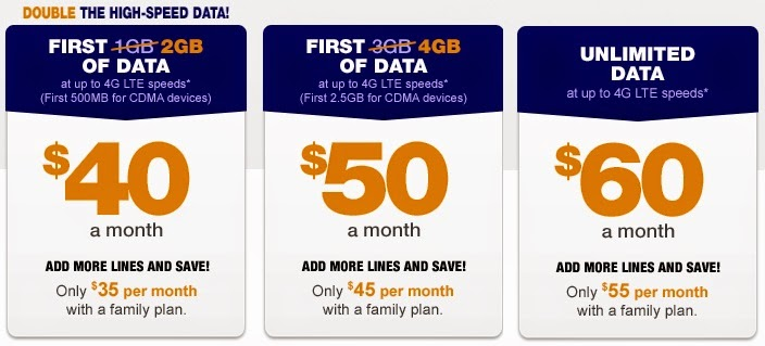Are you looking for a prepaid cell phone plan that's juuust right? Well, Goldilocks, we think Metro by T-Mobile might fit the bill. With a low-data plan, middle-of-the-pack data plan, and two unlimited options, there's a plan for almost everyone.